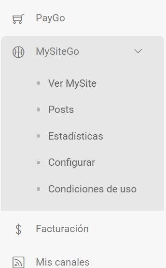Cómo funciona MySiteGo y qué herramientas nos proporciona