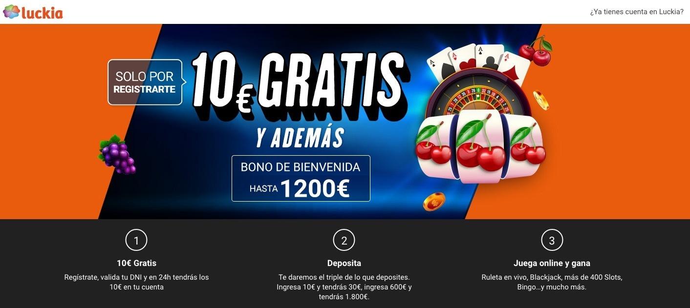 Afiliación CPA Luckia Casino